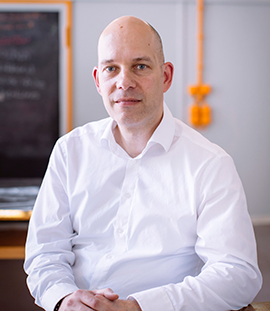 Migräneforscher & M-sense Gründer Dr. rel. nat. Markus Dahlem