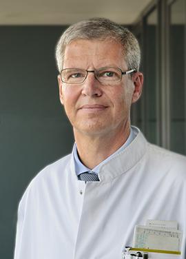 Prof. Hubert Wirtz leitet die Abteilung für Pneumologie am UKL. Foto: Stefan Straube / UKL