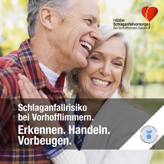 Titelbild Broschüre Initiative Schlaganfallvorsorge