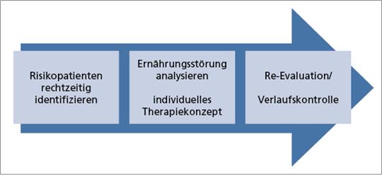 Abb. 3: Prävention bzw. Therapie der Mangelernährung.