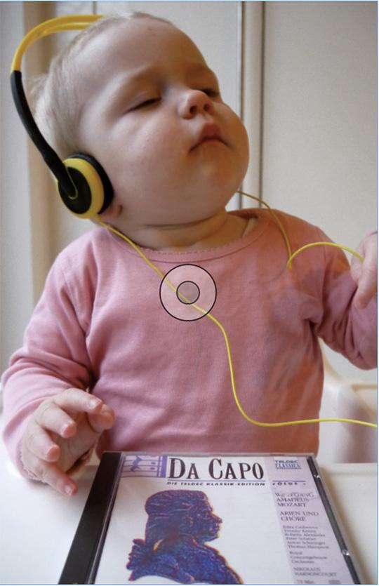 """Abb. 4: Bei Kindern soll es zu Verbesserungen kognitiver, sozialer und emotionaler Art durch Mozart-Musik kommen. Dass Mozart Kinder """"schlauer"""" macht, findet sich immer wieder in diversen Publikationen – trotz heterogener Datenlage."""