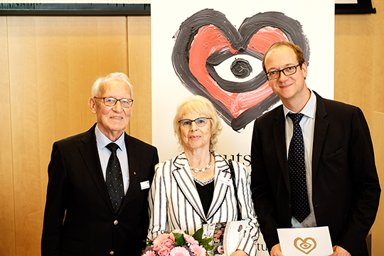 Preisträger Prof. Dirk Sibbing (ganz r.)