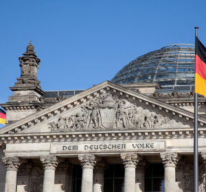 Bundestag im Corona-Krisenmodus