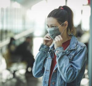 Mund-Nasen-Schutz vermindert körperliche Belastbarkeit