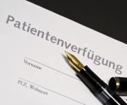 Der Patienten- und Pflegebeauftragte der Bayerischen Staatsregierung rät zur Patientenverfügung