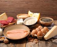 Fleisch und Milchprodukte günstig, raffinierte Kohlenhydrate schlecht